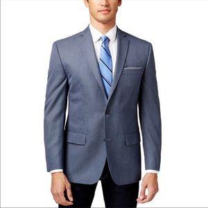 Michael Kors Classic Fit Blue Sportcoat Blazer